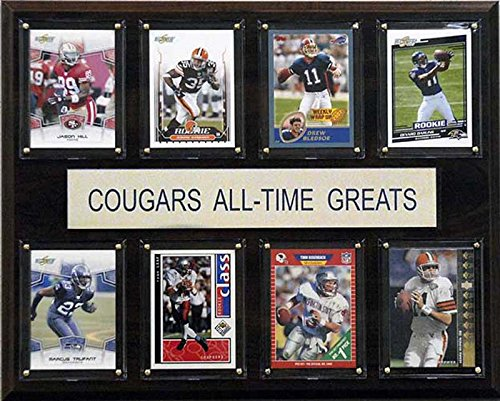 CandICollectables 1215ATGWST NCAA Football 12 x 15 in. Washington State Cougars All-Time Greats Plaque from CandICollectables