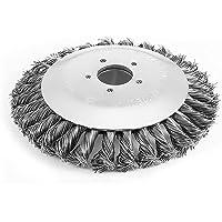 UYT Onkruidborstel 15 cm/19 cm dik gedraaid draadgras, trimmer, hoofd, lawn mower cutter draad lijn snoeizaag borstel…