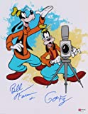 "Bill Farmer Signed & Inscribed""Goofy"" Disney"