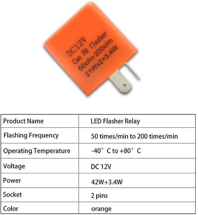 Ismartech Relais 12 V Mit Regler Blinker Blinken Led Elektronik