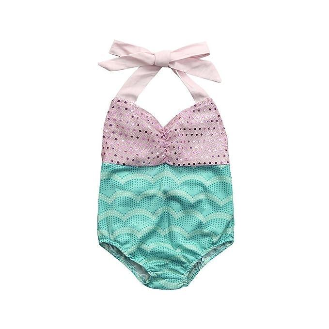 Amazon.com: Sunward bebé Kid Niña Sirena arco conjunto de ...