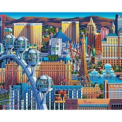 Dowdle Jigsaw Puzzle - Las Vegas Great Wheel - 500 Piece: Toys & Games