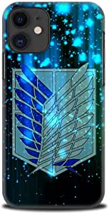 IPhone 11 - Anime – Black and Blue Wings of Freedom – Attack on Titan