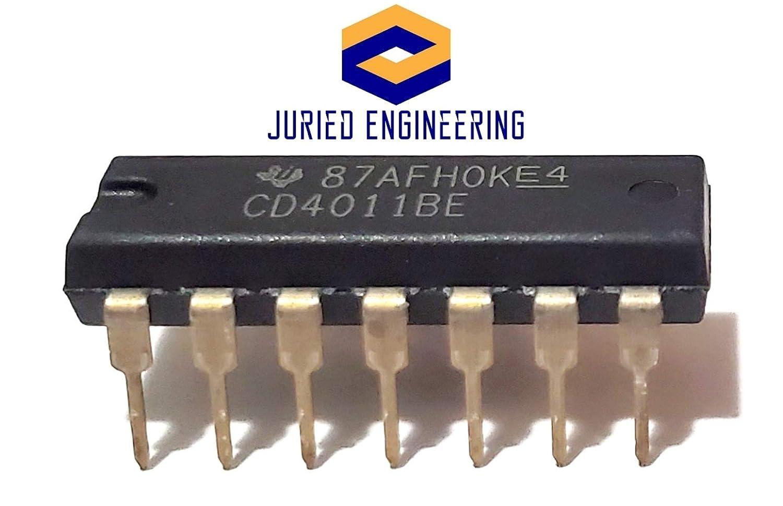 5PCS X CD4011BCM IC GATE NAND 4CH 2-INP 14-SOIC Fairchild