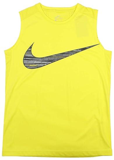 bc07e2cbb6 Image Unavailable. Image not available for. Color: NIKE Big Boys' (8-20) Dri -Fit Legacy Sleeveless Training Shirt