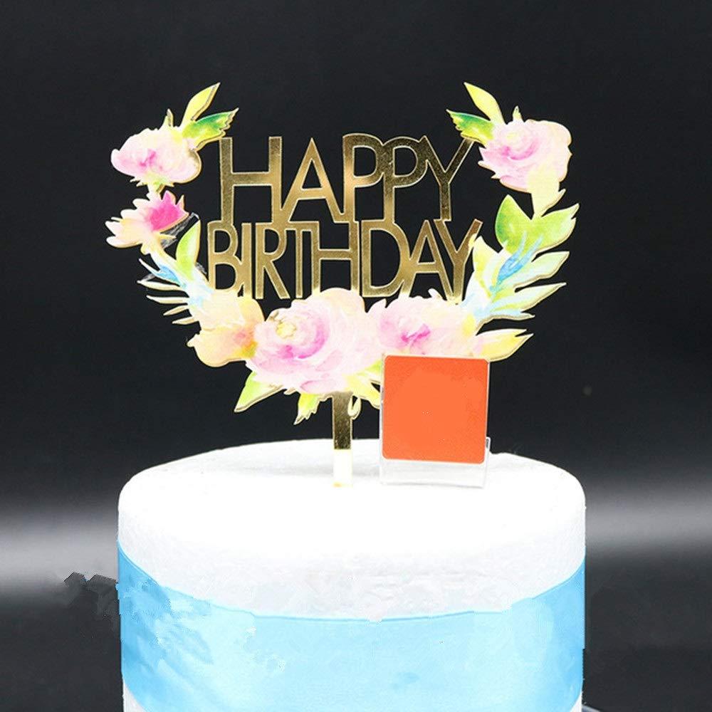 Stupendous Buy Joyglobal Glitter Golden Happy Birthday Color Printing Funny Birthday Cards Online Barepcheapnameinfo