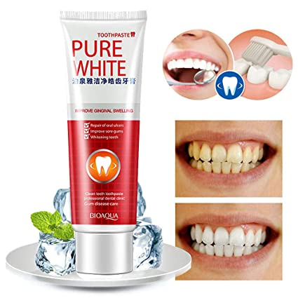 Amazon Com Clear Protect Gums Toothpaste Whiten Teeth Fresh