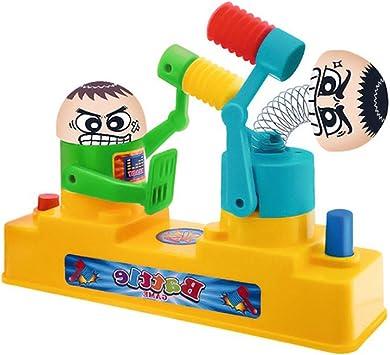 Toyvian Kids Hand Press Double Play Juguete Creativo Entre Padres e Hijos Juego de Mesa de Escritorio Interactivo (Color Aleatorio): Amazon.es: Juguetes y juegos