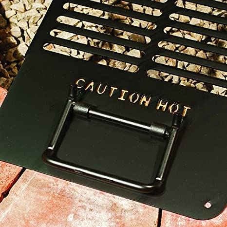 Pilot Rock Drop-in Cooking Grate for Round or Square Fire Pits DIG-U2 Park Grill - Made in the USA -