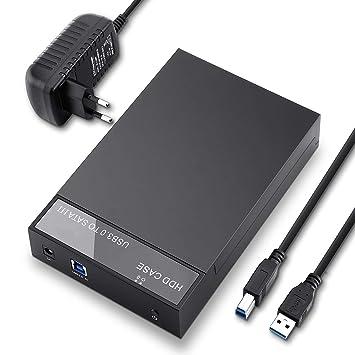 NBWS Estación de Acoplamiento de Disco Duro Externo USB 3.0 2.5 ...