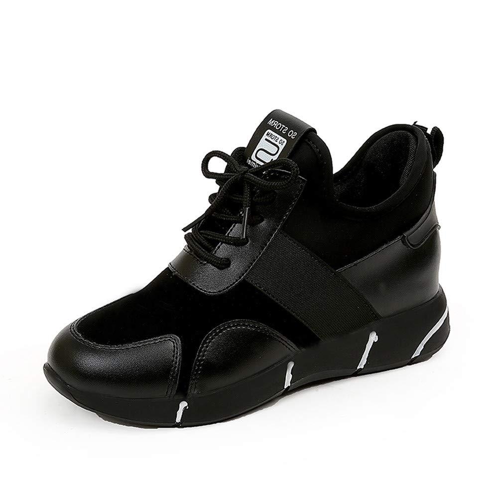 Zapatillas para Mujer, Mujeres Casuales Zapatillas Planas de Correr Transpirable Zapatos Deportivos Plataforma Zapatillas Deportivas de Mujer Running Zapatos para Correr Gimnasio Calzado