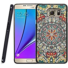 Galaxy Note 5 Case, Samsung Note 5 Black Case, Dsigo TPU Black Full Cover Protective Case for New Samsung Galaxy Note 5 - Tribal totem