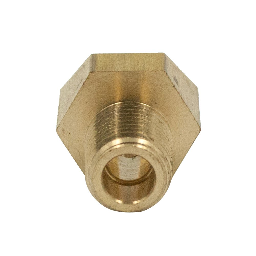Midland 12-075 Brass Inverted Flare 45 Degree Angle Elbow 0.62 Hex 5//16 Inverted Flare x 1//4 Male NPTF