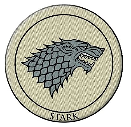 Amazon Dark Horse Deluxe Game Of Thrones 3 Embroidered Patch
