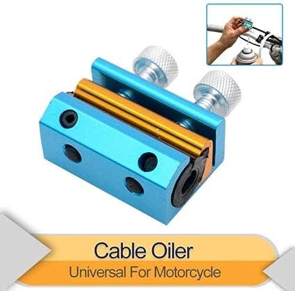 SUNWAN Lubricador de aceite de doble cable universal para ...