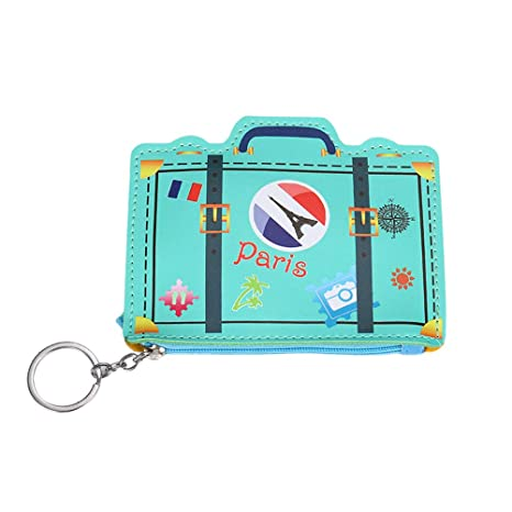 Amazon.com: SUPVOX 1pc Coin Pouch with Keychain Mini Cute ...