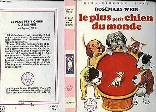 Le Plus Petit Chien Du Monde Bibliotheque Rose Helft
