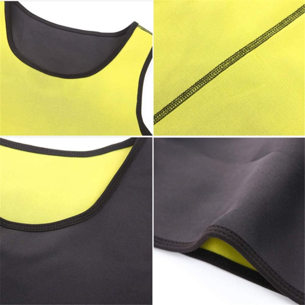 NINE STAR Mens Waist Trainer Gym Shaper Vest Sauna Suit Workout Body Sweat Slimming Ultra Sauna