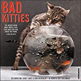 Bad Kitties 2017 Wall Calendar