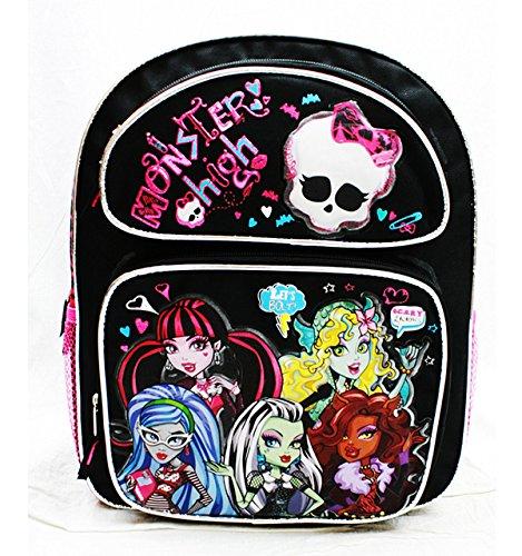 Monster High Medium Backpack Scary School Bag Girls New mh20760