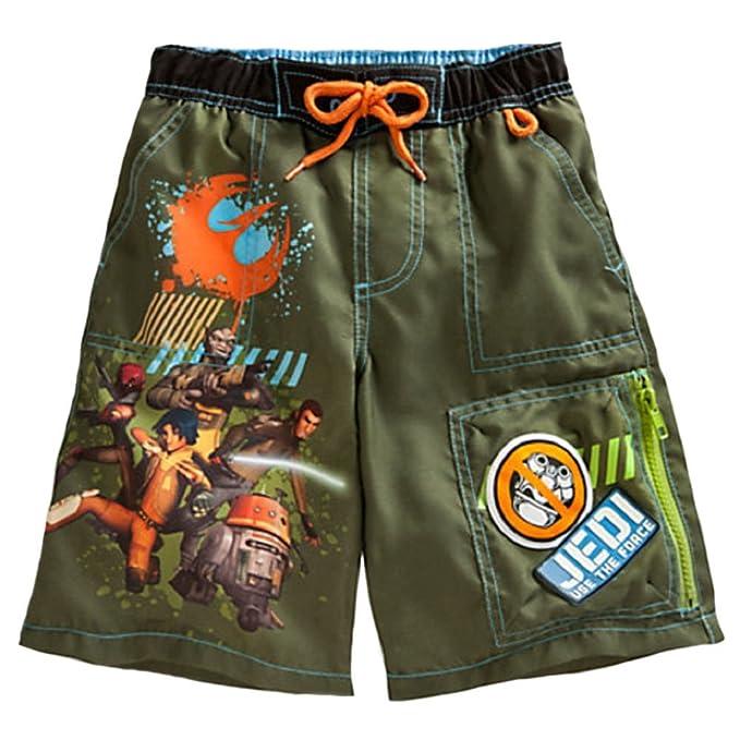 efdd67aefb Amazon.com: Star Wars Rebels Little Boys' Swim Trunks (4): Clothing