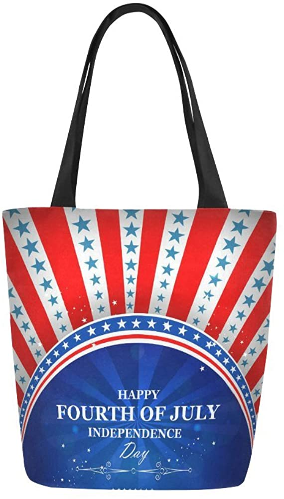 Perfect for Beach Towels and Pool Party! Great American Tote Bag Fourth of July