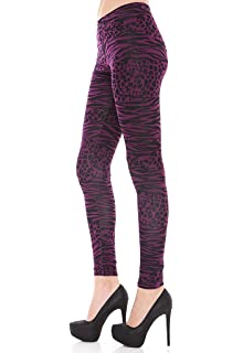 Womens Multi Animal Print Leggings