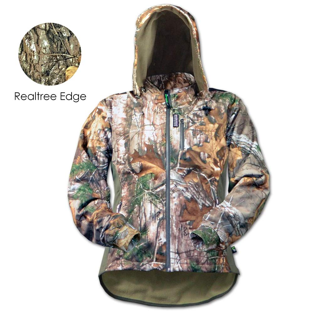 Rivers West Women's Lynx Jacket (Realtree Edge, Medium) by Rivers West