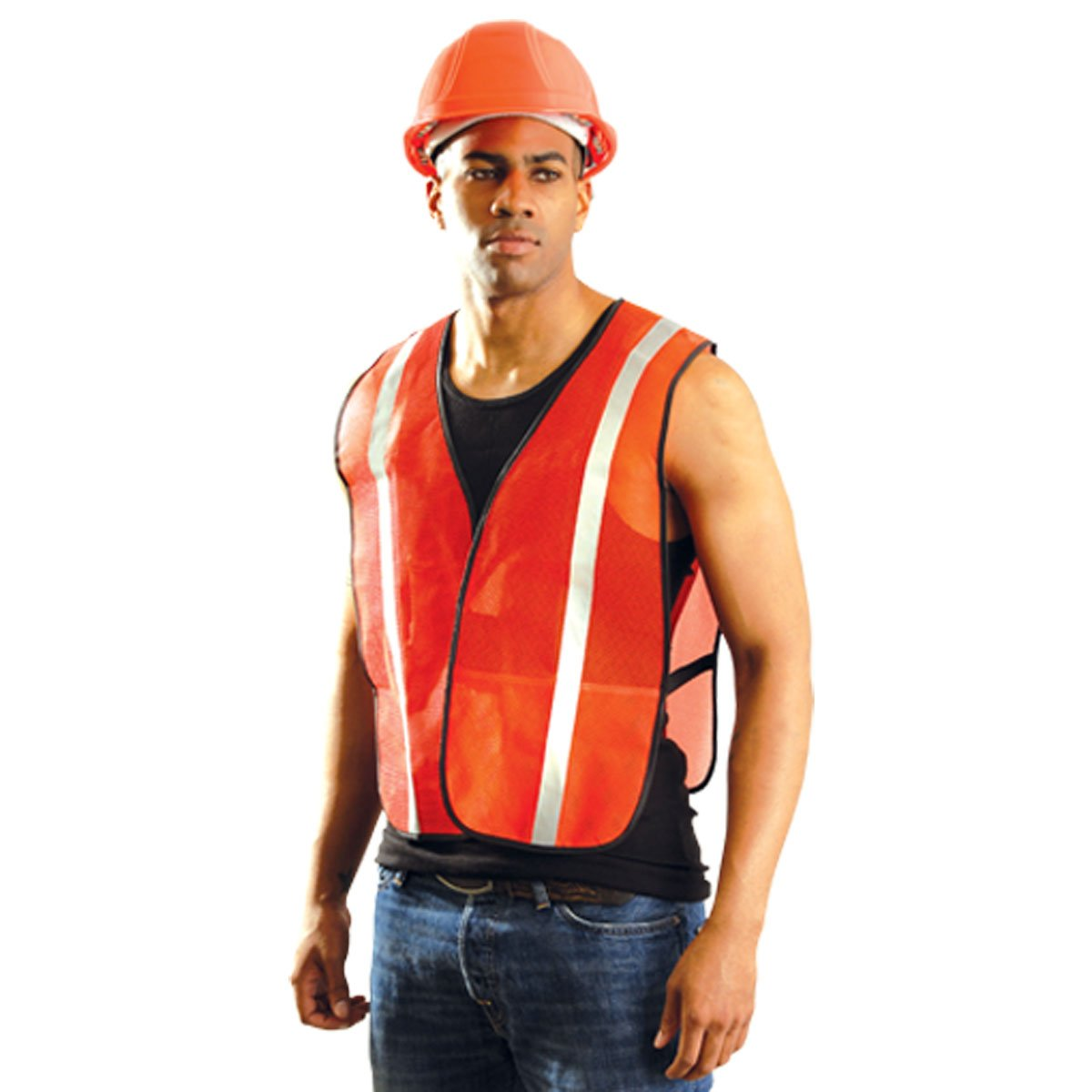 Jackson Safety ANSI Class 3 Deluxe Style Polyester Safety Vest with Lime Prismatic by Jackson Safety B004QXL2DQ