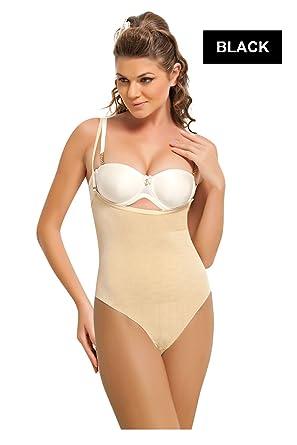 02005ab3093a8 Amazon.com  NBB Lingerie Women Bodysuit Shapewear Underbust Waist Cincher -  Open Bust Body Shaper  Clothing