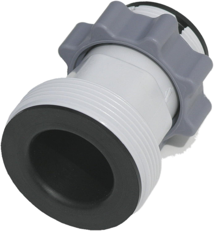 Hose Adapter B: Adapts Larger Intex Pumps to 16039; and Smaller Pools