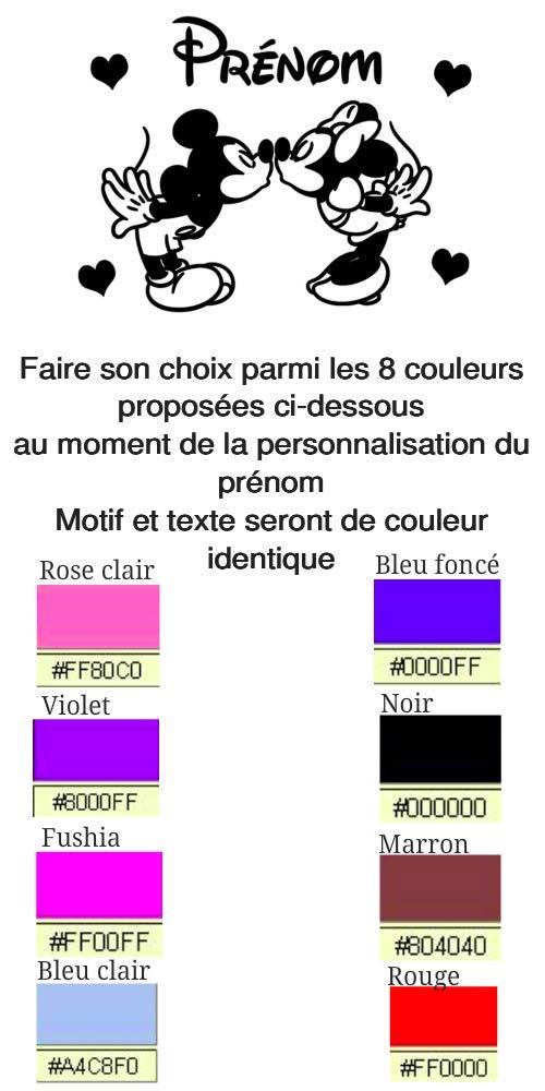 Lampe de Chevet Veilleuse Enfant B/éb/é Personnage neige Blanche Motif avec Personnalisation du Pr/énom Fait Main