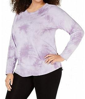 Eliacher Pocket Shirts for Women Casual Loose Tunic Tops Long Pullover Sweatshirt