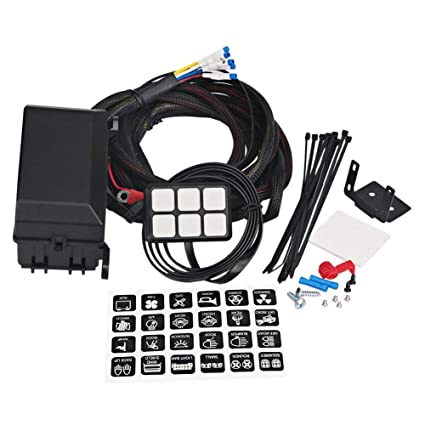 YeBetter 6 Gang Panel De Interruptores Sistema De Relé Electrónico ...