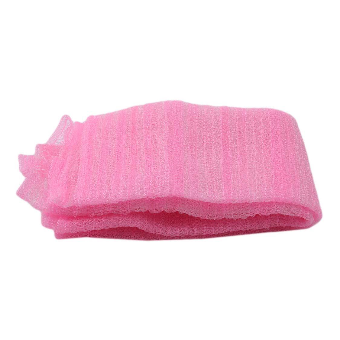 Idiytip Easy Care Skin Wash Cloth Beauty Towel/Scrub/Nylon Wash Cloth/Bath Body Shower (Blue) QingYing
