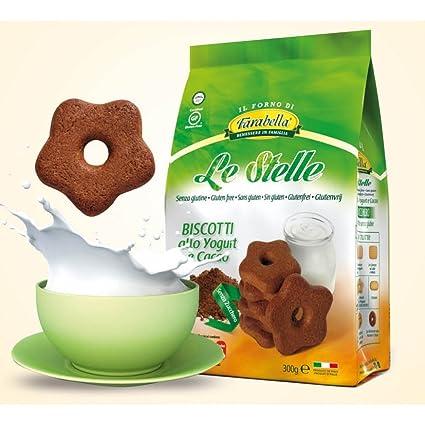 Farabella Estrellas Yogur Y Galletas de cacao sin azúcar Sin ...