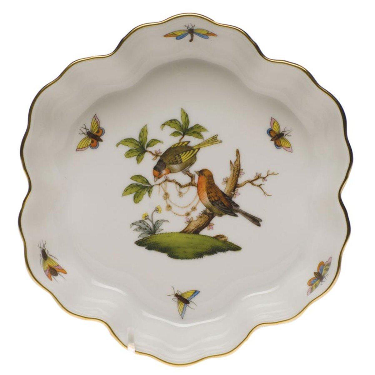 Herend Rothschild Bird Fruit Bowl