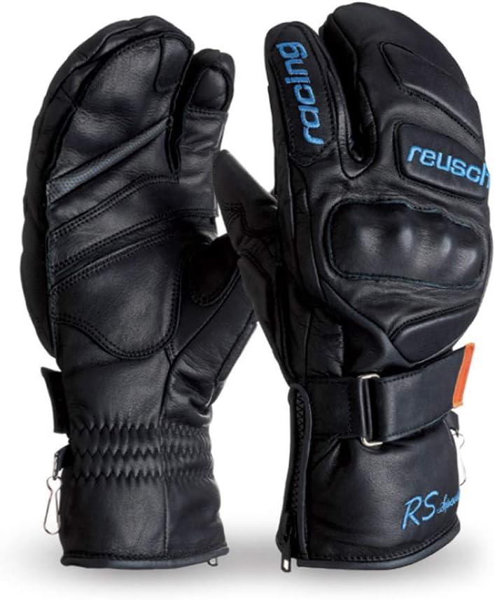 ロイシュ(reusch)3本指ミトンスキー手袋「RACING SPIRIT SPECIAL」REU16RSSP(ブラック)  8.0(日本サイズM)