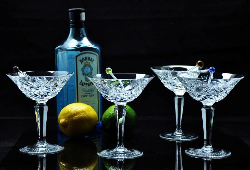 Martini Glass in Salzberg Pattern