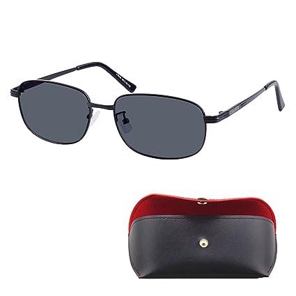 Miope Gafas tintadas gris lentes polarizadas Gafas de sol para Miopía -0.50 a -6.00 Metal marco -1.00