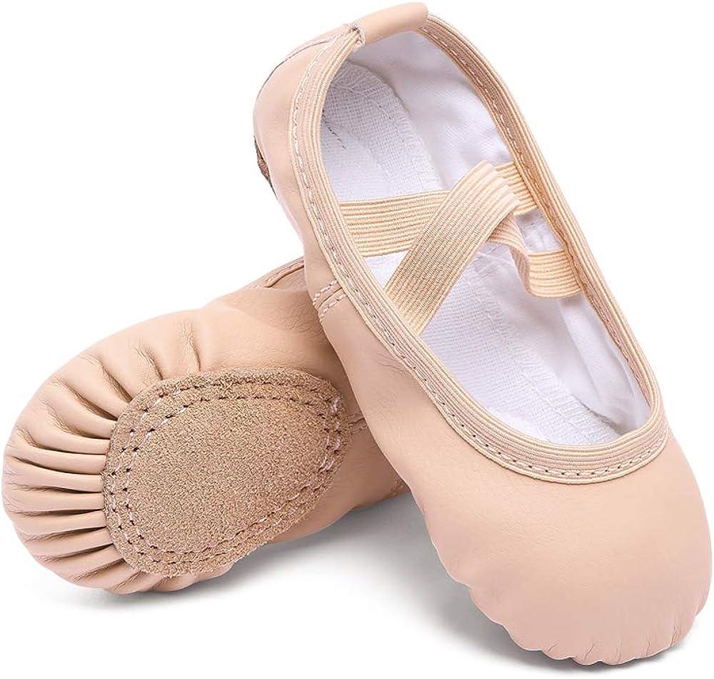 CUTE STARS Girls Leather Dance Ballet