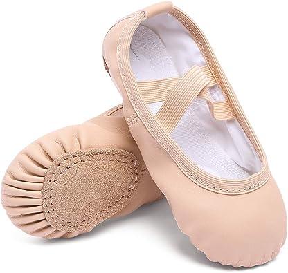 Starlite Basic Pink Leather Ballet Shoe 9.5 s Child