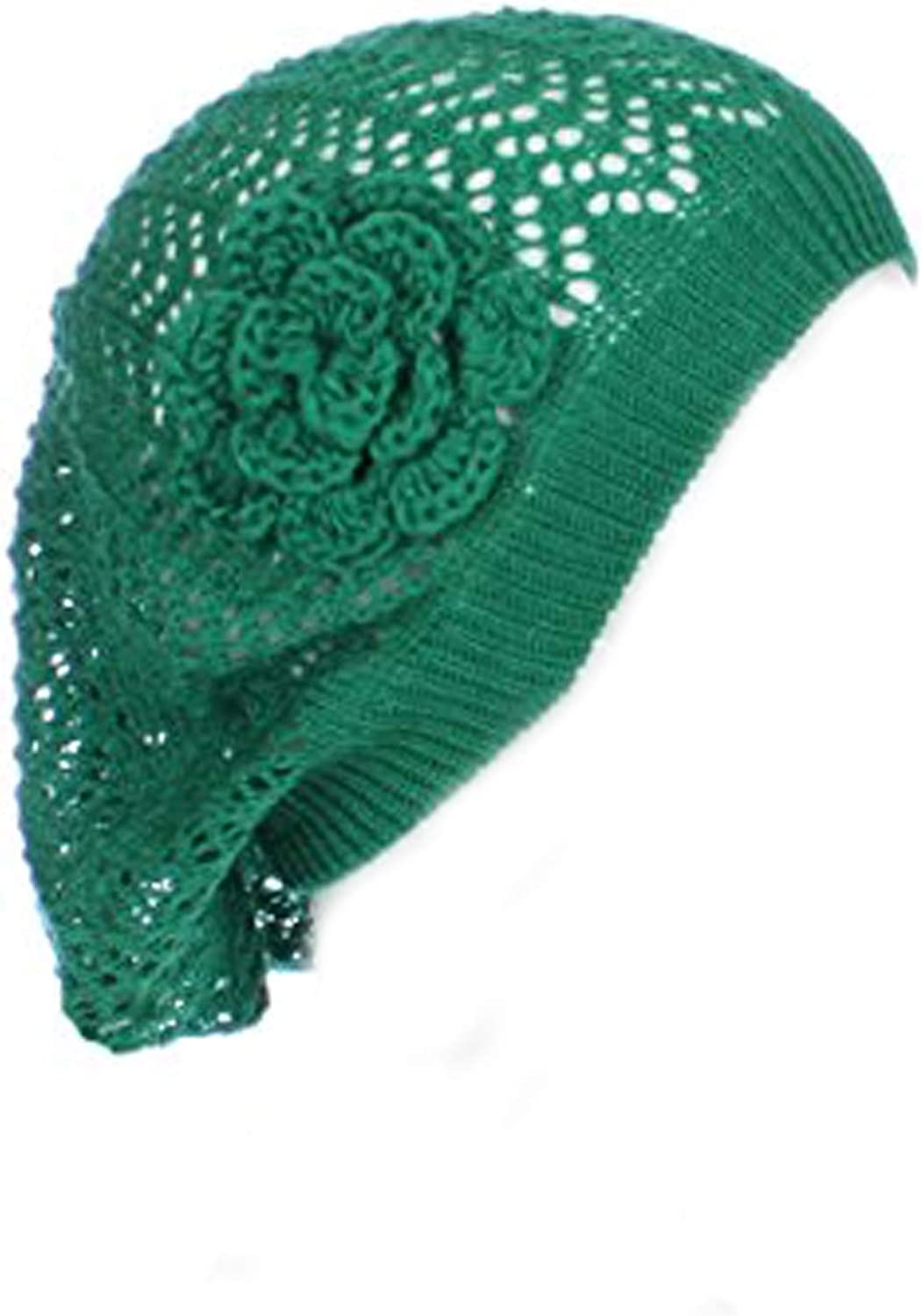 An Crochet Hat Flower...