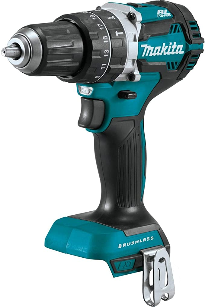 "New Makita 1//2/"" Brushless Cordless Hammer Drill XPH12Z 18V LXT Lithium-Ion"