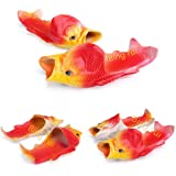 BING RUI CO 5 Colours Fish Slippers Beach Shoes Non-Slip Sandals Creative Fish Slippers Men Women Casual Shoe