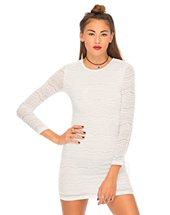 9379527d91 Motel Women's Heidi Body Con Paisley Long Sleeve Dress