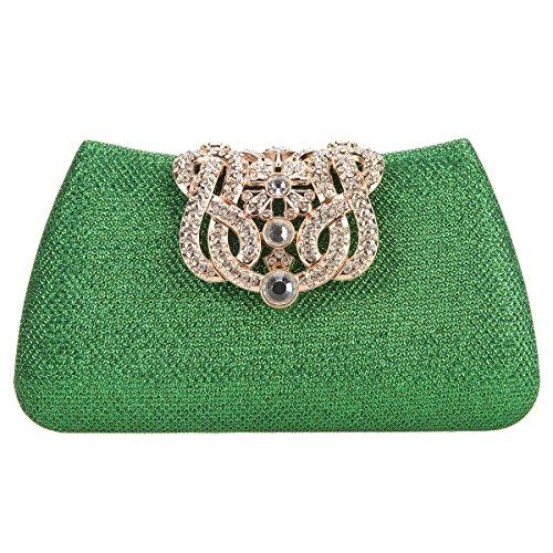 Fawziya Crown Clutches For Women Evening Glitter Box Clutch Purses - Buy  Online in UAE.  862b684ab62b