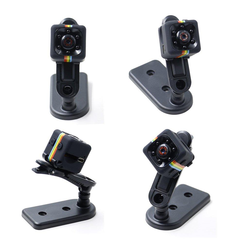Cam/éra Cach/ée 1080P Mini Cam/éra Spy LXMIMI Cam/éra Web Portable HD Nanny avec Vision Nocturne et D/étection de Mouvement avec Carte 8G