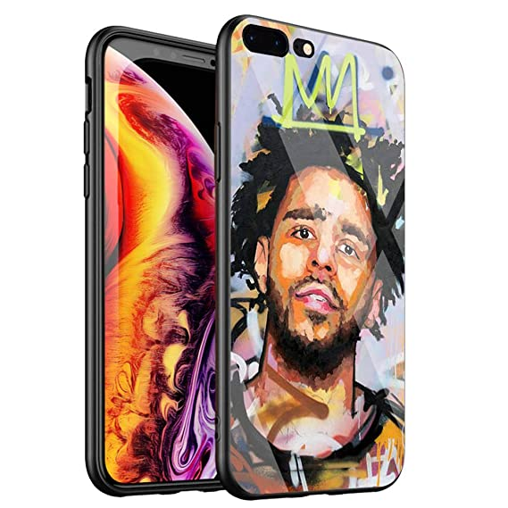 275a4d96871be Amazon.com: DTYZL Phone Case iPhone 6/6s,Tempered Glass Back Cover ...