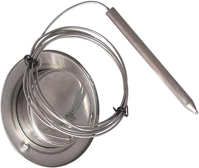 160 cm de long Jusqu/à 500c/° Thermom/ètre /à sonde pour barbecue et four